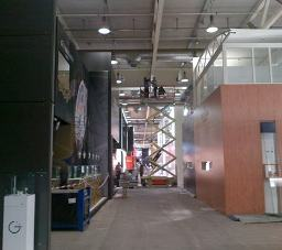 Construction at Baselworld 2012